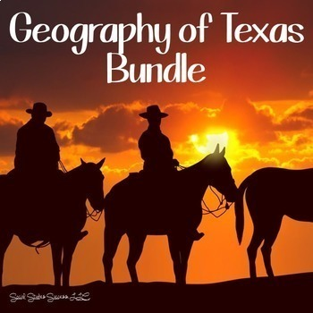 Geography of Texas Bundle Including Modified Resources