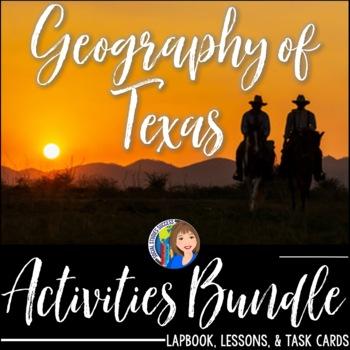 Geography of Texas Bundle