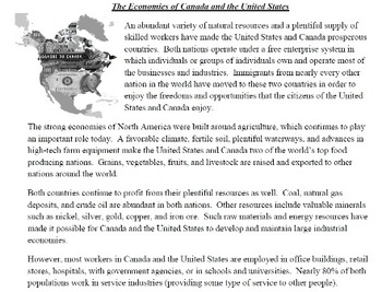 Geography of U.S. and Canada Bundle