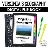 Geography of Virginia Digital Flip Book (VS.2)