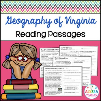 Geography of Virginia Reading Passages and Questions (VS.2a-c)