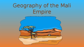 Geography of the Mali Empire Pack