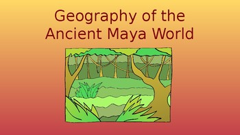 Geography of the Maya World Pack