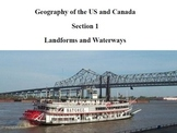 Geography of the US and Canada: Landforms and Waterways