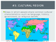 Geography vocabulary terms (geography content statement 5)