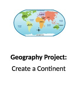 Geography:Continent and Landform Project
