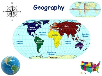 Geography(Virginia specific) Lesson & Flashcards-study gui