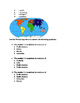 Geography and Map skills Quiz