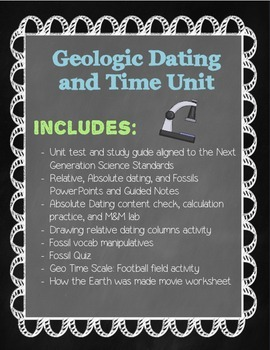 Geologic Dating and Time Bundled Unit