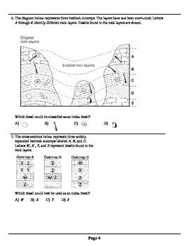 Geologic History Quiz