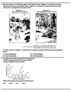 Geologic History Regents Review packet.