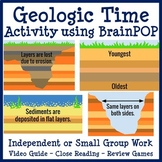 Geologic Time Activity using BrainPOP