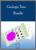 Geologic Time Bundle Absolute & Relative Dating, Types of Fossils