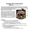 Geologic Time PowerPoint Project