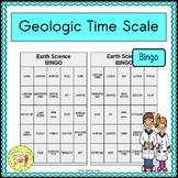 Geologic Time Scale Bingo