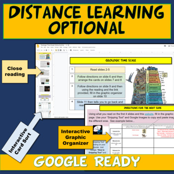NGSS Geologic Time Scale Card Sort