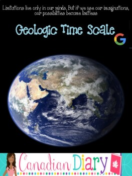 Geologic Time Scale: Powerpoint, Photographs, Descriptions, Worksheets