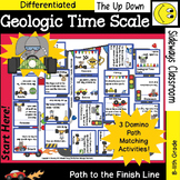 Geologic Time Scale- Domino Path Matching Review Activity-