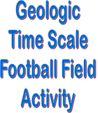 Geologic Time Scale - Football Field Activity