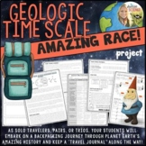 Geologic Time Scale Project : Amazing Race Student Research Distance Learning