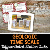Geologic Time Scale Student-Led Station Lab