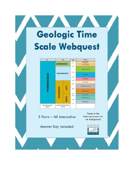 Geologic Time Scale Webquest