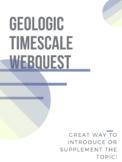 Geologic Time Scale Webquest w/ Answer Key