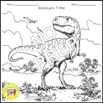 Geologic Time Crossword Puzzle