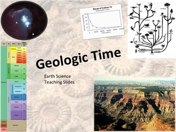 Geologic Time Teaching Slides