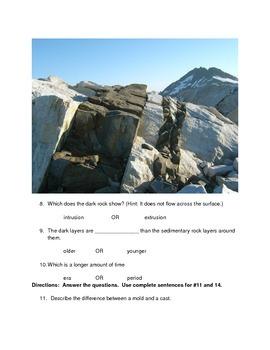 Geologic Time Test