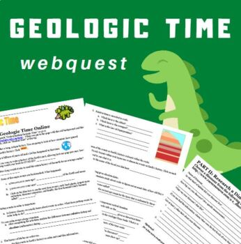 Geological time research teaching resources teachers pay teachers geologic time webquest geologic time webquest ibookread ePUb