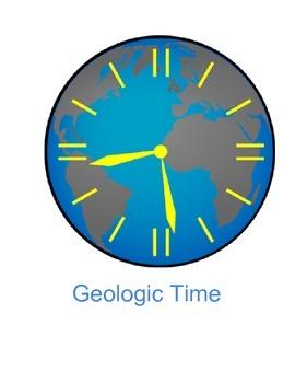 Geologic Time in Big 6 Format