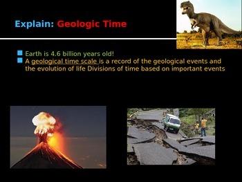 Geologic Timeline Lesson PPT