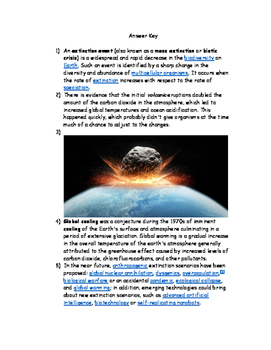Geologic Times and Mass Extinctions
