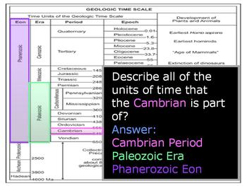 Geologic Timescale Lesson, History of the Earth