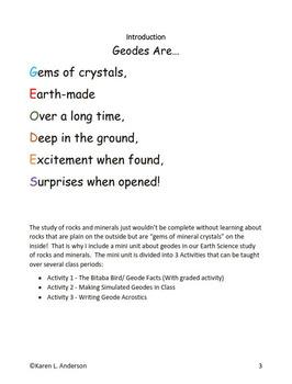 Geological Gems:  Cracking The Surprise Inside Geodes
