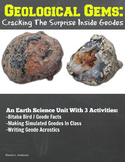 Geological Gems:  Cracking The Surprise Inside Geodes