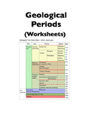 Geological Time Periods (Worksheets)