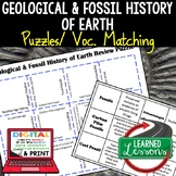 Earth Science Geological and Fossil History of the Earth P
