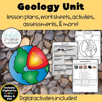 Studying geology? This all inclusive unit bundle is featured on this blog post for SOL 5.7 Rocks and Minerals. It includes FREE resources to make planning easy for you and fun for your students. Check it out to learn more.