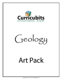 Geology Art Bundle | Themed Scripted Afterschool Activities