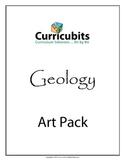 Geology Art Bundle   Themed Scripted Afterschool Activities