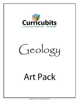 Geology Art Bundle | Themed Scripted Afterschool Activities