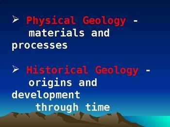Geology Basics Ch 1