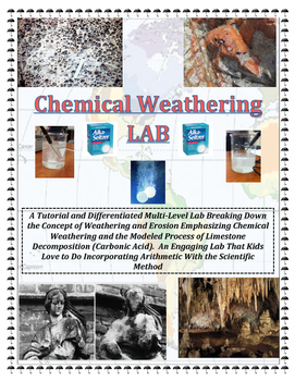 Geology: CHEMICAL Weathering LAB (Materials Optional). IMA