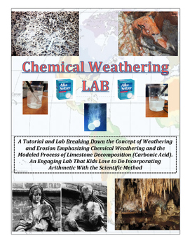 Geology: CHEMICAL Weathering LAB (Simulates Weathering of Limestone)