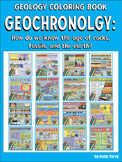 Geology Coloring Book Bundle: Geochronolgy (How Old Is Tha