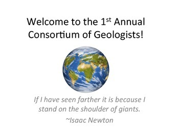 Geology Consortium #1