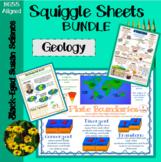 Geology Squiggle Sheets Bundle