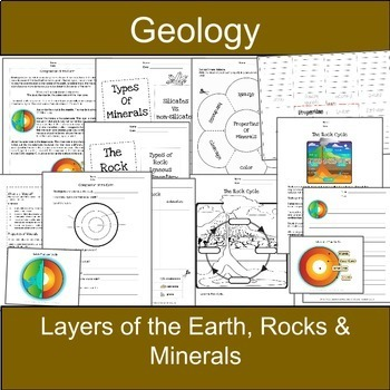 Geology: BUNDLE-Earth Science Mini-Lessons